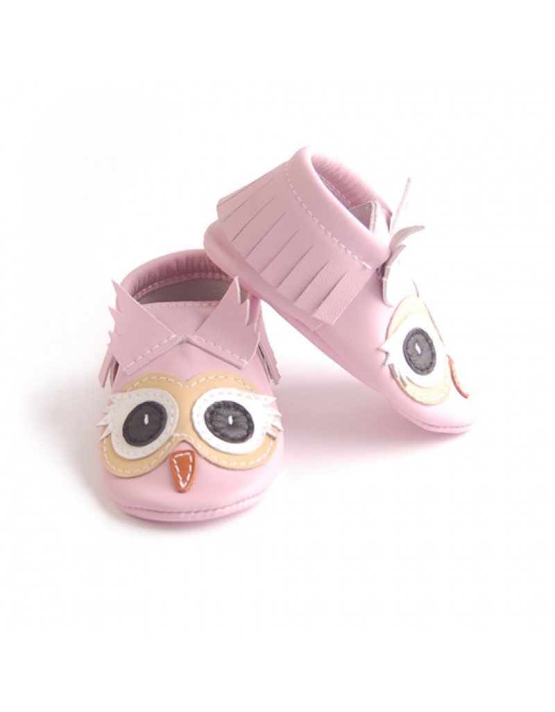 Pink Owl - Zoo Animals