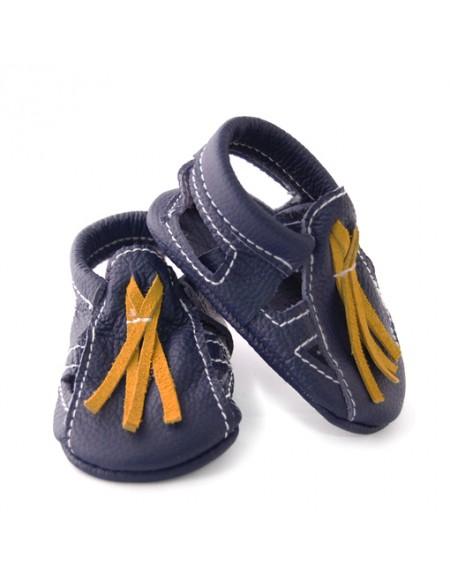 Dark Blue - Sandals