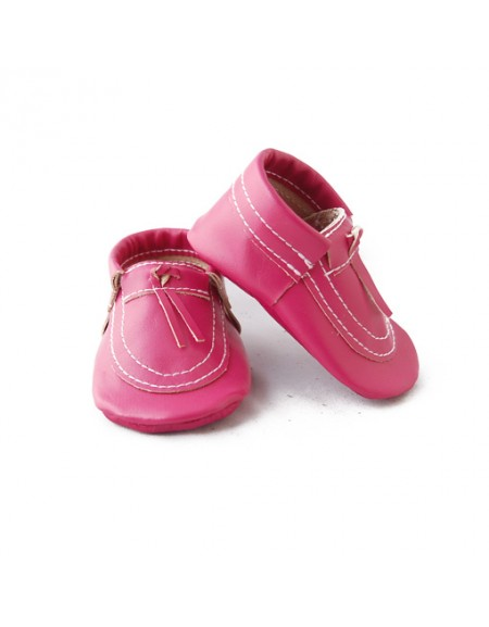 Hot Pink - Moccasin