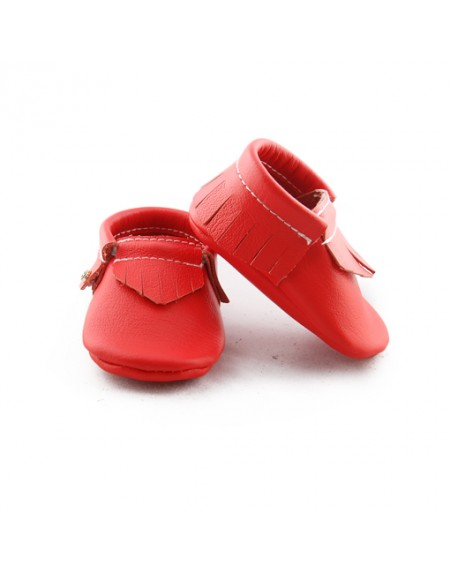 Neon Red - Moccasin