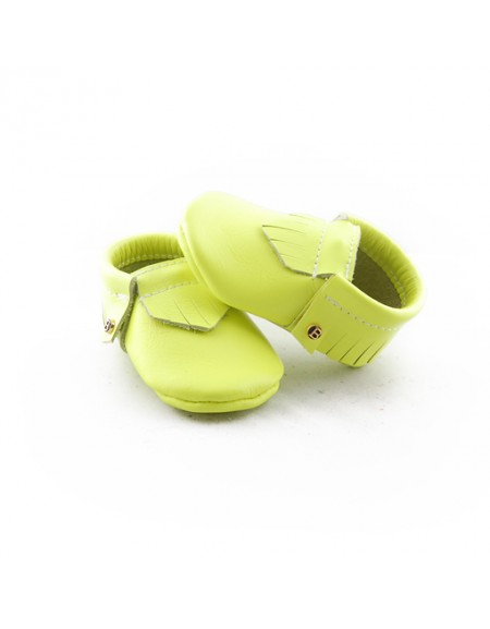 Neon Yellow - Moccasin