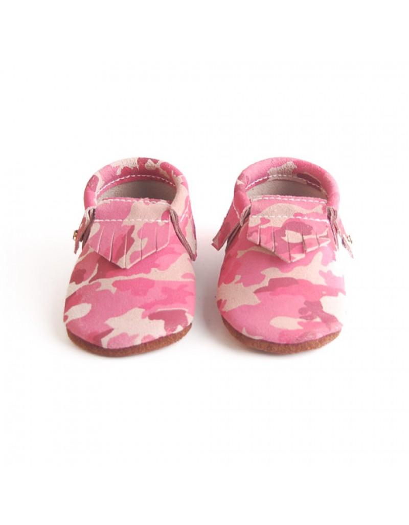 Camo Moccs - Pink
