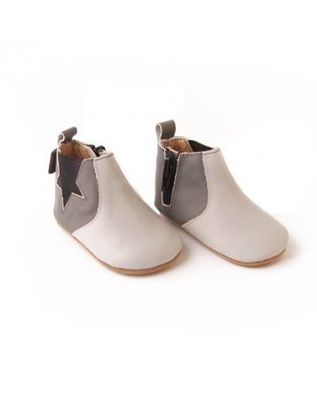 Star Boots - Grey